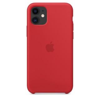 Чехол Silicone Case для iPhone 11 (Product)Red OEM Премиум качество
