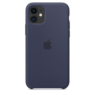 Чехол Silicone Case для iPhone 11 Midnight Blue OEM Премиум качество