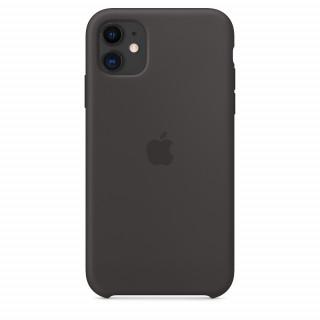 Чехол Silicone Case для iPhone 11 Black OEM Премиум качество