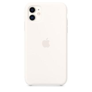 Чехол Silicone Case для iPhone 11 White OEM Премиум качество