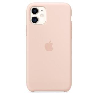 Чехол Silicone Case для iPhone 11 Pink Sand OEM Премиум качество