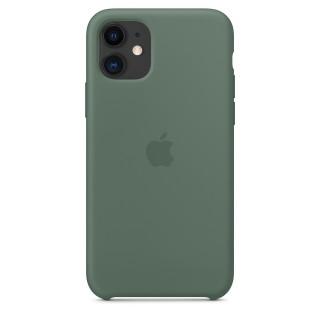 Чехол Silicone Case для iPhone 11 Pine Green OEM Премиум качество