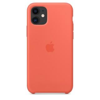Чехол Silicone Case для iPhone 11 Clementine (Orange) OEM Премиум качество