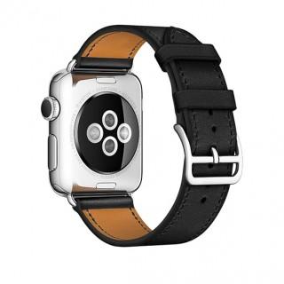 Ремешок для Apple Watch 38/40mm Hermes Single Tour Black