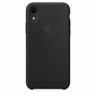 Чехол Silicone Case для iPhone Xr Black Premium Copy