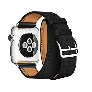 Ремешок для Apple Watch 42/44mm Hermes Double Tour Black