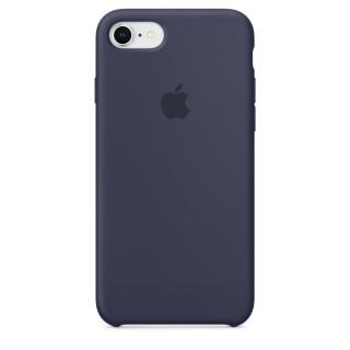 Чехол Silicone Case для iPhone 7/8 Midnight Blue Premium Copy