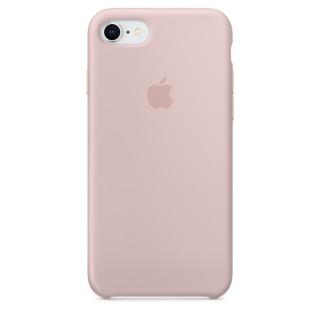 Чехол Silicone Case для iPhone 7/8 Pink Sand Premium Copy