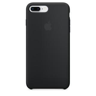Чехол Silicone Case для iPhone 7 Plus/8 Plus Black Premium Copy