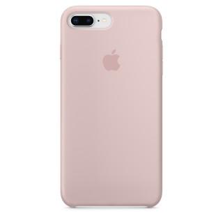 Чехол Silicone Case для iPhone 7 Plus/8 Plus Pink Sand Premium Copy