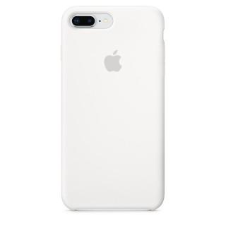 Чехол Silicone Case для iPhone 7 Plus/8 Plus White Premium Copy