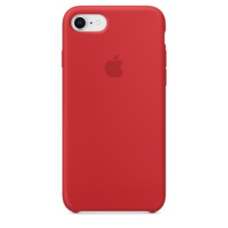 Чехол Silicone Case для iPhone 7/8 (Product)Red Premium Copy