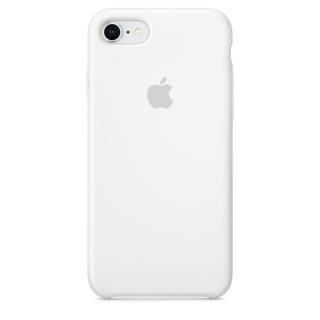 Чехол Silicone Case для iPhone 7/8 White Premium Copy