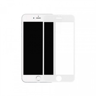 Защитное 4D стекло для iPhone 8 Plus / 7 Plus (White)