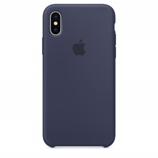 Чехол Silicone Case для iPhone Xs/X Midnight Blue Premium Copy