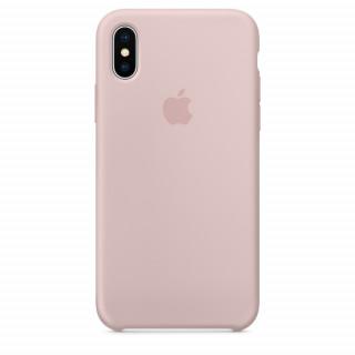 Чехол Silicone Case для iPhone Xs/X Pink Sand Premium Copy