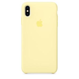 Чехол Silicone Case для iPhone Xs Max Mellow Yellow Premium Copy