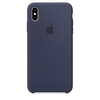 Чехол Silicone Case для iPhone Xs Max Midnight Blue Premium Copy