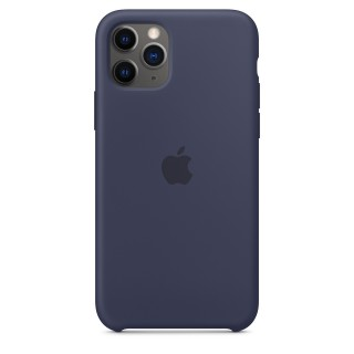 Чехол Silicone Case для iPhone 11 Pro Midnight Blue OEM Премиум качество