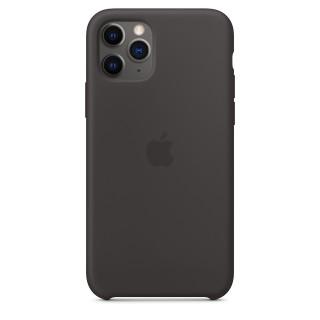 Чехол Silicone Case для iPhone 11 Pro Black OEM Премиум качество