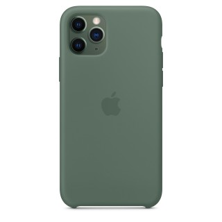 Чехол Silicone Case для iPhone 11 Pro Pine Green OEM Премиум качество