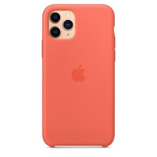 Чехол Silicone Case для iPhone 11 Pro Clementine (Orange) OEM Премиум качество