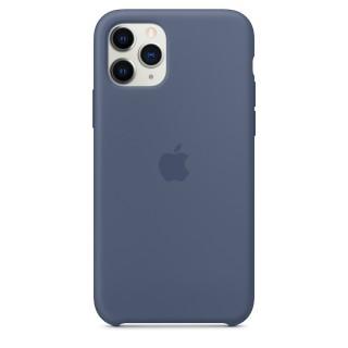 Чехол Silicone Case для iPhone 11 Pro Alaskan Blue OEM Премиум качество
