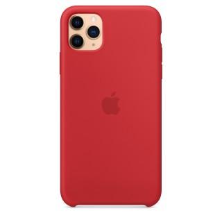 Чехол Silicone Case для iPhone 11 Pro Max (Product)Red OEM Премиум качество