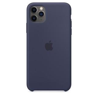 Чехол Silicone Case для iPhone 11 Pro Max Midnight Blue OEM Премиум качество