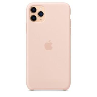 Чехол Silicone Case для iPhone 11 Pro Max Pink Sand OEM Премиум качество