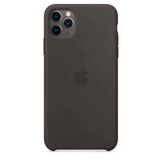 Чехол Silicone Case для iPhone 11 Pro Max Black OEM Премиум качество