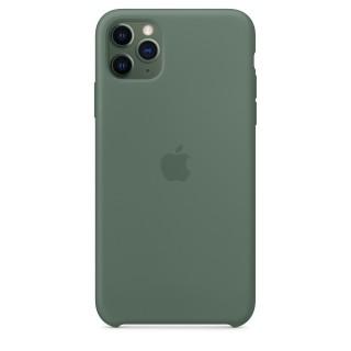 Чехол Silicone Case для iPhone 11 Pro Max Pine Green OEM Премиум качество