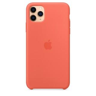 Чехол Silicone Case для iPhone 11 Pro Max Clementine (Orange) OEM Премиум качество