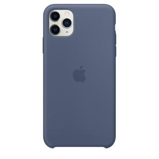 Чехол Silicone Case для iPhone 11 Pro Max Alaskan Blue OEM Премиум качество