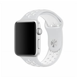 Ремешок для Apple Watch 42/44mm Nike Band Pure Platinum White