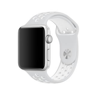 Ремешок для Apple Watch 38/40mm Nike Band Pure Platinum White