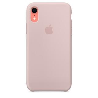 Чехол Silicone Case для iPhone Xr Pink Sand Premium Copy