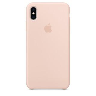Чехол Silicone Case для iPhone Xs Max Pink Sand Premium Copy