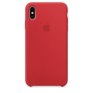 Чехол Silicone Case для iPhone Xs Max (Product)Red Premium Copy