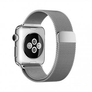 Ремешок для Apple Watch 42/44mm Milanese Loop Silver