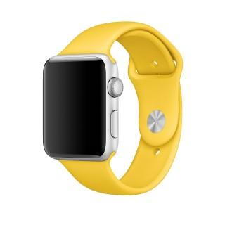 Ремешок для Apple Watch 42/44mm Sport Band Yellow