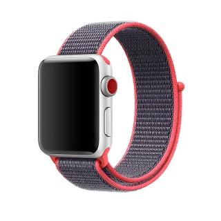 Ремешок для Apple Watch 38/40mm Sport Loop Electric Pink