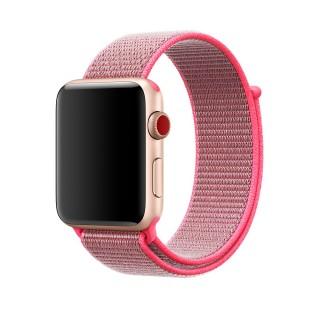 Ремешок для Apple Watch 42/44mm Sport Loop Hot Pink