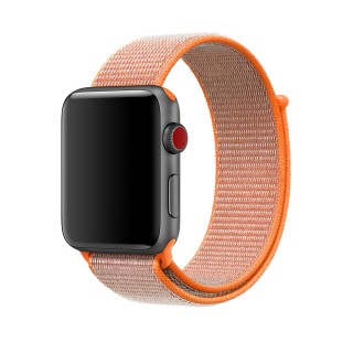 Ремешок для Apple Watch 42/44mm Sport Loop Spicy Orange