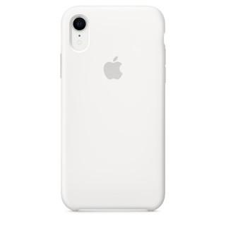 Чехол Silicone Case для iPhone Xr White Premium Copy