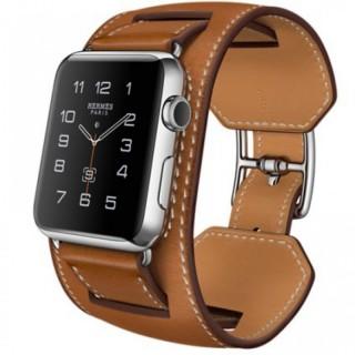 Ремешок для Apple Watch 38/40mm Hermes Manchette Fauve