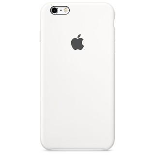 Чехол Silicone Case для iPhone 6s/6 White Copy