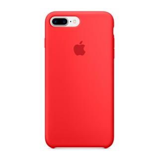 Чехол Silicone Case для iPhone 7 Plus/8 Plus (Product)Red Premium Copy