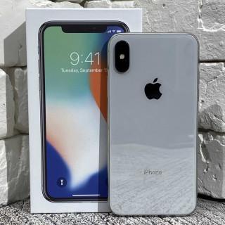 iPhone X 64Gb Silver б/у