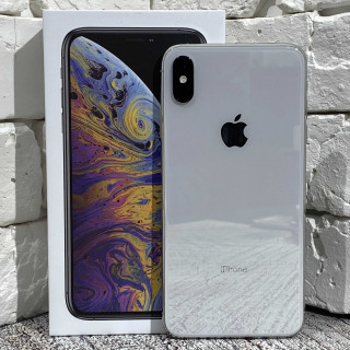 iPhone Xs Max 256Gb Silver б/у